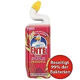 WC-Ente Total Aktiv Gel, Flüssiger WC-Reiniger, Toilettenreiniger, Fruitopia, 750 ml