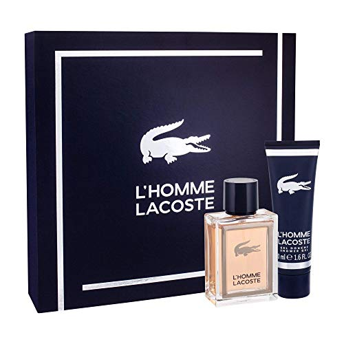 Lacoste L' Homme Set mit Shower Gel 50ml + 50ml