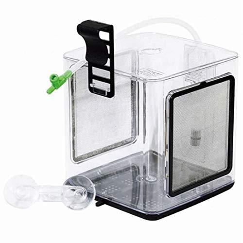 ZISS BL-2 EZ Züchterbox für Fische und Garnelen, Trennbox für Aquarien, 2,4 l, große Größe