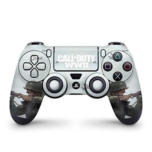 Skin Adesivo para PS4 Controle - Call Of Duty Ww2