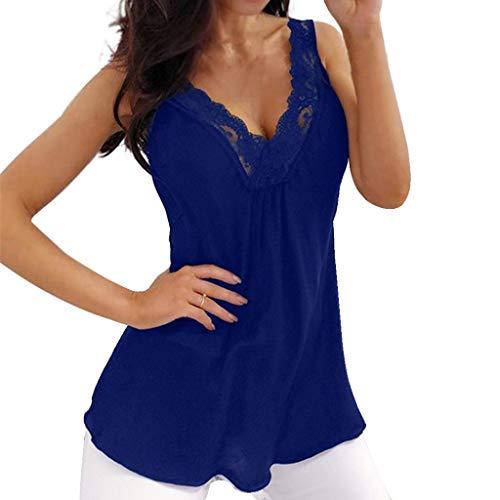 BOBOLover Camiseta para Mujer Manga Corta Camisetas Originales Ropa de Mujer Blusas Encaje Mujer Tops Lencero Encaje Top Fiesta Mujer Blusa Elegante