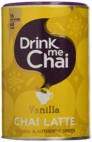 Drink Me Chai Preparato in Polvere Solubile e Bevanda Istantanea Gusto Vaniglia - 250 G