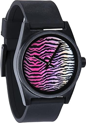 Neff Men's Daily Wild Watch Black/Tiger Stripe