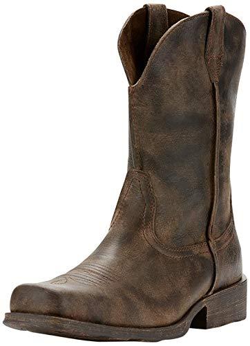Ariat Men's Rambler Western Boot, Antiqued Grey, 7