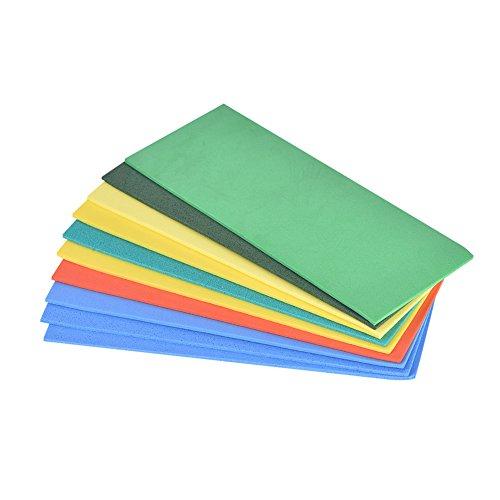 Alomejor Fly Foam Sheets Kleurrijke Foam Sheet Vervanging voor Magnum Streamer Fly Houder Boot Box Voor Vliegen binden Materiaal