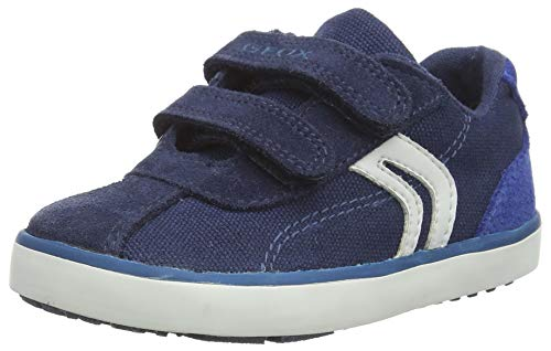 Geox B Kilwi Boy G, Zapatillas para Bebés, Azul (Navy/Royal C4226), 25 EU