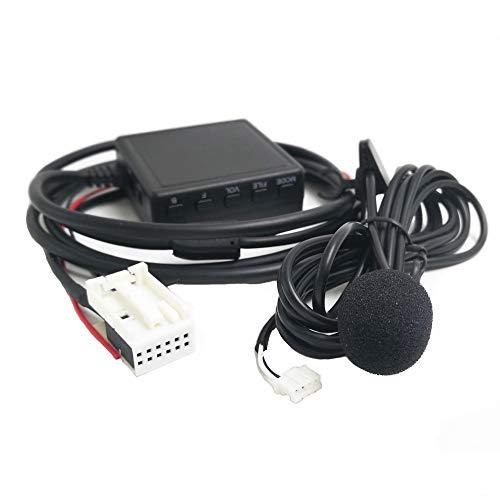 Adaptador Bluetooth AUX con micrófono para Volkswagen RCD210 RCD300+ RCD310 RCD510 RSN300 RNS 310