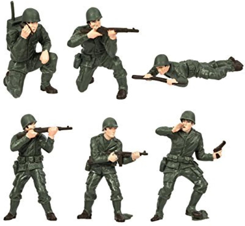 Safari Toob Army Men Miniatures (MultiColour) by Safari