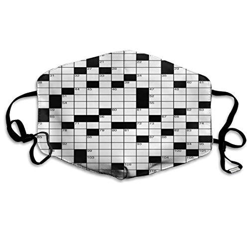liukaidsfs Wortsuchrätsel Klassisches Kreuzworträtsel Der Gesichts- und Mundschutz schützt Sie vor Staub und seltsamen Gerüchen mit Filter