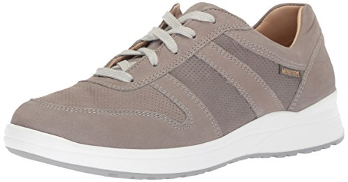 Mephisto Women's Rebeca Perf Sneakers Steel Nubuck 9.5 M US