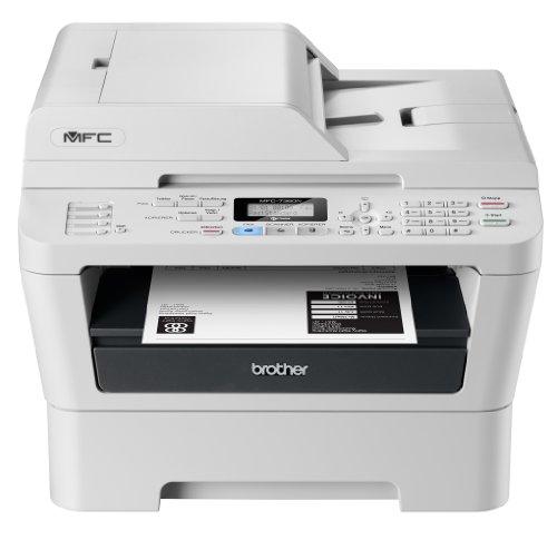 Brother MFC-7360N Monolaser-Multifunktionsgerät (Drucken, scannen, kopieren, faxen, 2.400x600 dpi, USB 2.0 Hi-Speed)