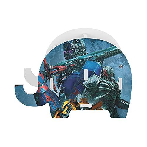 Transformers Movie Robot Hornet And Optimus Prime - Portalápices con soporte para teléfono, accesorios de oficina divertidos para tableta, organizador de escritorio