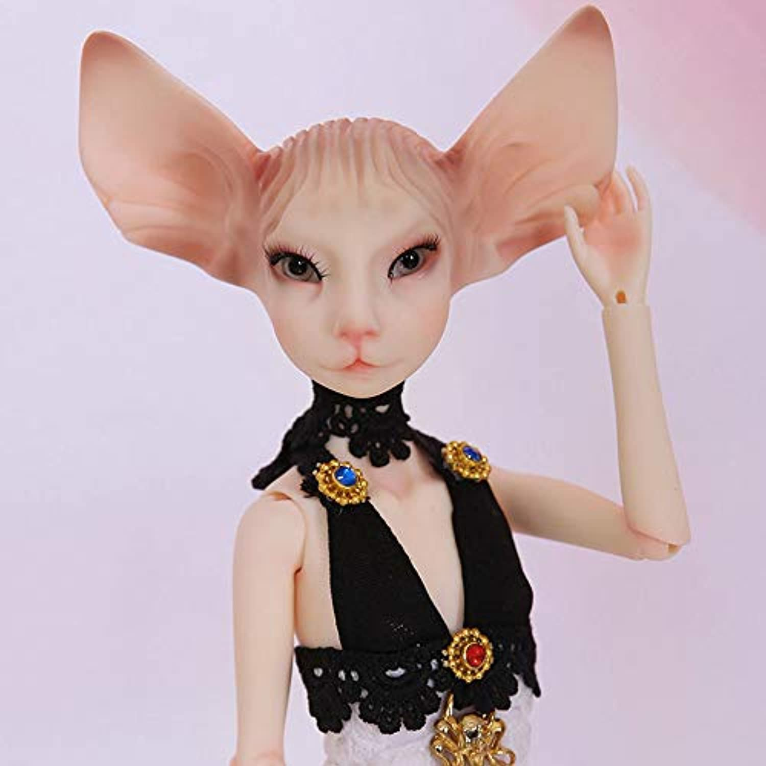 ZMH 14 Inch 1 4 BJD SD Doll Toys 36cm 19-Jointed Body Cosplay Fashion Dolls mit Allen Clothes Outfit schuhe Wig Hair Makeup Gift Collection