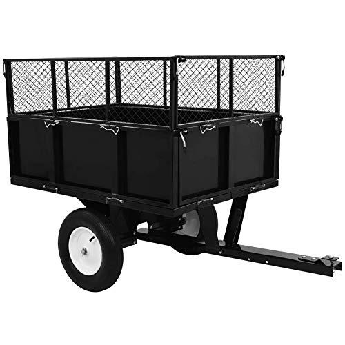MMPTN Gartenwagen Turf Traktor Anhänger...