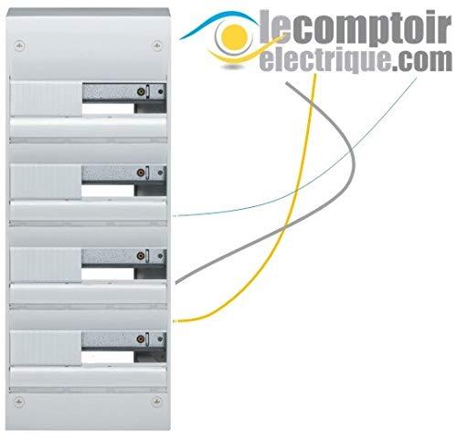 Hager GD413A Elektrische koffer Gamma+ 13, opbouw, 4 rijen, 52 modules IP30 - Hager GD413A