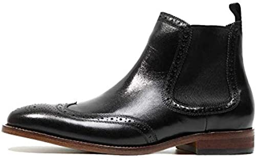 NIUMT Stiefelies, Handgefertigt, Martin Stiefel, Britischen Stil, Vintage, Chelsea-Stiefel, Spitz