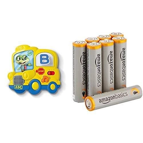 LeapFrog Fridge Phonics Magnetic Letter Set with Amazon Basics AAA Batteries Bundle
