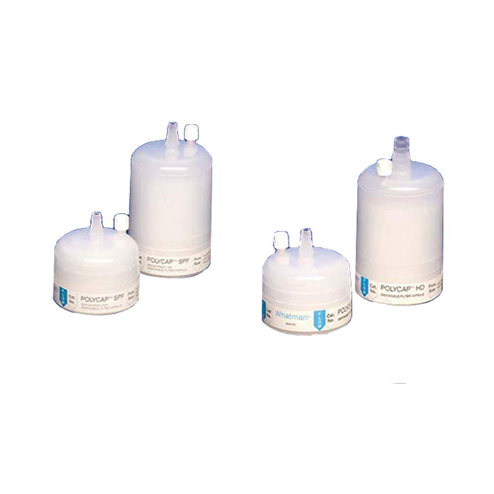 60 psi Maximum Pressure Whatman 6703-3650 Polycap HD 36 Polypropylene Capsule Filter with SB Inlet and Outlet 5.0 Micron