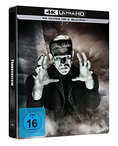 Frankenstein - Limited Steelbook (4k UHD Exklusiv bei Amazon) [Blu-ray]