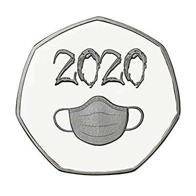 Amazon - Save 80%: Jesaisque 'I Survived 2020' Commemorative Coin Memories of The Past Gift…