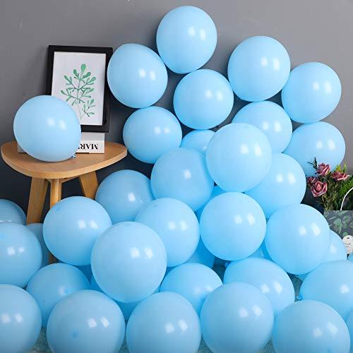 big light blue balloons - 4