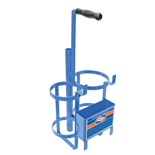 "Uniweld 500S Metal Carrying Stand for 10 cu/ft ""MC"" Acetylene Tank and 20 cu/ft ""R"" Oxygen Tank"