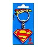 Logoshirt DC Comics - Superhéroe - Superman Logo Llavero - Key-Ring - Coloreado - Diseño Original con Licencia