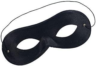 New Black Zorro Domino Mask Robber Bandit Halloween Super Hero Book Week Mask