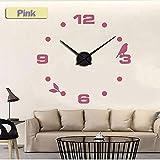 lovely.wall clock Reloj de Pared de fábrica 2019, Moderno, de Cuarzo, diseño de Gato, Color Negro, para decoración del hogar, Orologio Muro Livingroom, Reloj Creativo de Pared