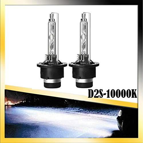 2 x 35W D2S HID Xenon Brenner Scheinwerferlampe 10000K Blau Weiß Super Extrem Hell Laser Kit 12V Fahrzeugscheinwerferbirne