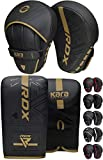 Best Boxing Gloves - RDX Boxing Pads and Bag Gloves Set, Maya Review