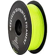 PLA filament 1.75mm Multicolor, GEEETECH Silky Rainbow 3D Drucker Filament PLA 1KG Spool, Color Gradient