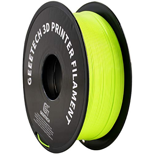 PLA Filament 1.75mm Apple Green, GEEETECH Neat Line 3D Printing Filament PLA for 3D Printer and 3D Pen, 1kg 1 Spool