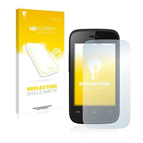 upscreen Entspiegelungs-Schutzfolie kompatibel mit Wiko Ozzy Crazy Phone – Anti-Reflex Bildschirmschutz-Folie Matt