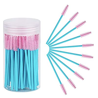 Cuttte 100pcs Disposable Mascara