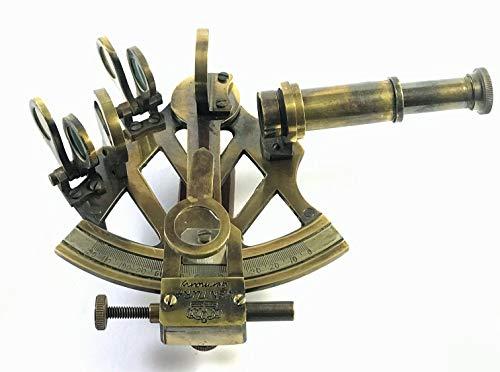 Peerless Sextant Geschenk Sextant Instrument - sextant Navigation - sextant arbeitend - sextant Messing - sextant funktional marine antik nautische Nachbildung Werkzeug Deko Bronze Venture