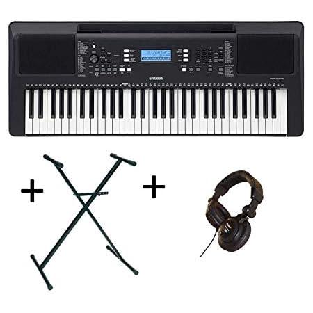 Pack Yamaha PSR-E373 - Teclado arreglado 61 notas + soporte + ...