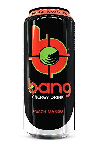 VPX Bang Energy Drink Peach Mango - 12 Unidades