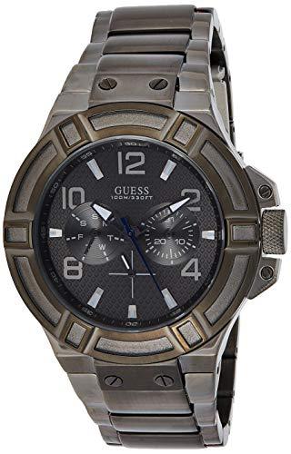 Orologio Uomo Guess Sport W0218G1 Cinturino di acciaio inossidabile nera