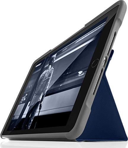 Funda resistente para Apple iPad 5ª generación STM Dux de 9,7, color negro