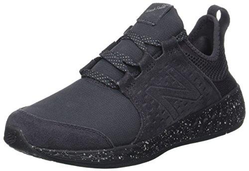 New Balance Damen Fresh Foam Cruz Hallenschuhe, Schwarz (Black/grey/WCRUZE), 40 EU (6.5 UK)