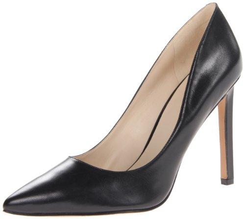 Nine West Women's Tatiana Dress Pump, Black Leather 2, 10