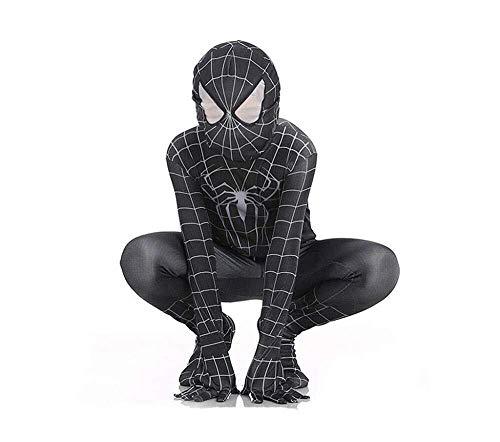 Hcxbb-b Spiderman kostuum- Cosplay Kinderen Elastische Bodysuit Halloween Movie Hero Terug naar Buitengewone Venom Prestatie Kostuum