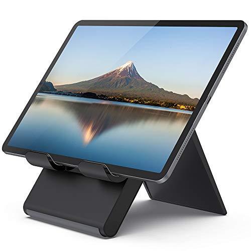 折り畳み式タブレット スタンド, 12.9インチ対応, Lomicall iPad用 stand : 卓上縦置きスタンド, タブレッ...