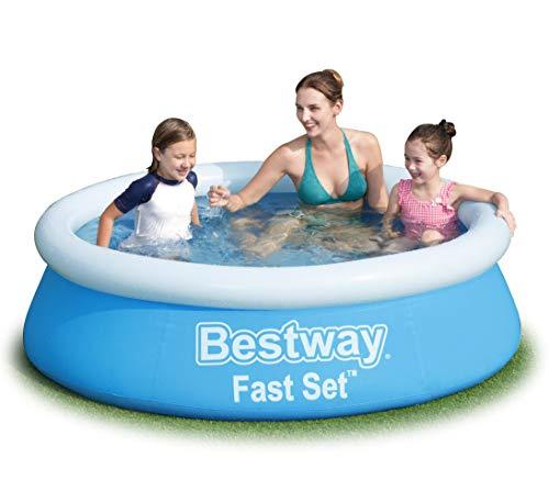 Trendyshop365 Kinderpool Aufblasbar Family-Pool Aufstellpool 183x51cm Bestway
