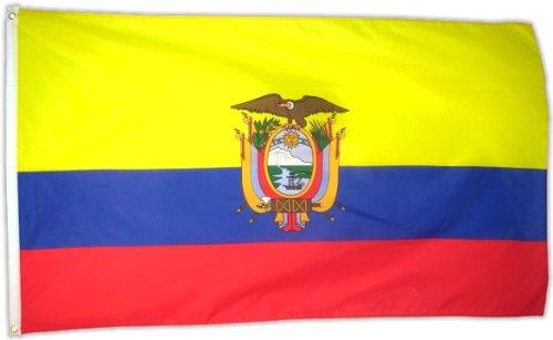 Fahne Flagge Ecuador 90 x 150 cm