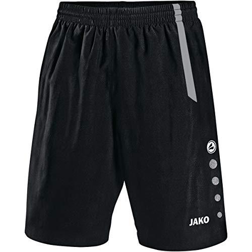 JAKO Herren Sporthose Turin, schwarz/grau, M