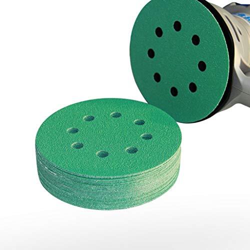 LiShuoShuo Schuurpapier 25 stks Professionele Anti Klomp 125mm Schuurpapier 5