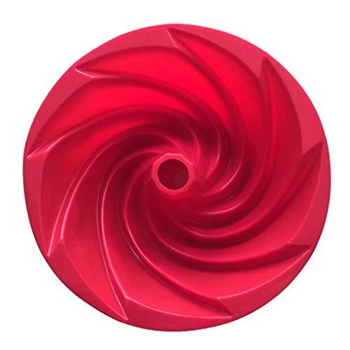 probeninmappx Couleur aléatoire Cuisine ustensiles de Cuisson Swirl Forme Silicone gâteau Moules Pan Bricolage Biscuits Desserts Moule de Cuisson Outils de pâtisserie