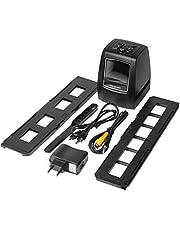 YXDS Escáner de Alta resolución Convierte Digital USB Negativos Diapositivas Escaneo fotográfico Convertidor de película Digital portátil 2.36 Pulgadas LCD